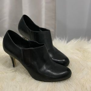 Cole Haan black leather boots shoes size 8B